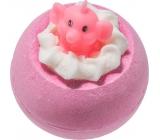 Bomb Cosmetics Růžový slon a limonáda Šumivý balistik do koupele 160 g