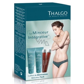 Thalgo Welcome Pack 50 ml Abdominal Firming Care Pack + 50 ml Cellulite Corrective Cream + Coach Anti-Fat Pads 2 x 25 ml, cosmetic set