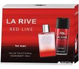 La Rive Red Line Eau de Toilette 90 ml + deodorant spray 150 ml, gift set