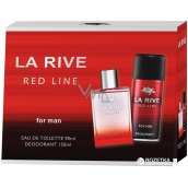 La Rive Red Line Eau de Toilette 90 ml + deodorant spray 150 ml, gift set