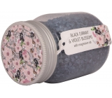 Bohemia Gifts & Cosmetics Black Currant and Fial Flowers and Magnesium Salt Bath Salt 380 g