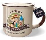 Nekupto Hobby Mug with the Best Gardener 250 ml