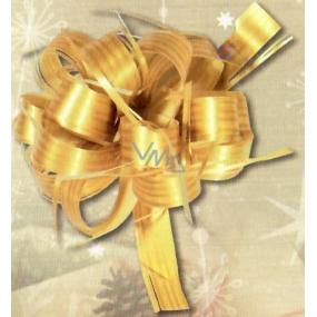 Nekupto Cocktail Ribbon Raphia Gold Shine width 2 cm, length 80 cm 001 21