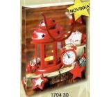 Nekupto Gift paper bag small 14 x 11 x 6,5 cm Christmas 1704 30 WBS
