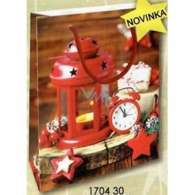 Nekupto Gift paper bag 14 x 11 x 6.5 cm Christmas 1704 30 WBS