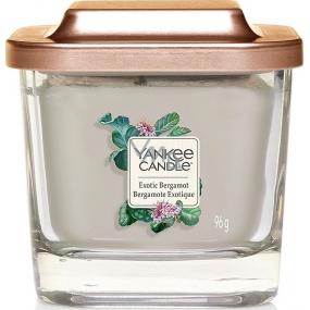 Yankee Candle Exotic Bergamot - Exotic Bergamot Soy Scented Candle Elevation Small Glass 1 Wick 96 g