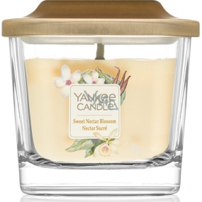 Yankee Candle Sweet Nectar Blossom - Sweet Floral Nectar Soy Scented Candle Elevation Small Glass 1 Wick 96 g