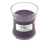 WoodWick Fig - Fig scented candle with wooden wick and lid glass small 85 g