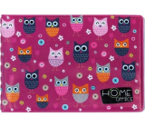 Albi Case for business cards, owls 9.5 cm x 7 cm