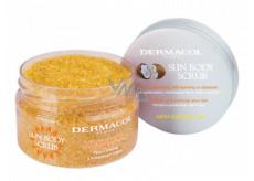 Dermacol Sun Body Scrub body peeling with coconut oil 200 g