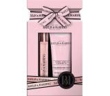 Baylis & Harding Jojoba, Vanilla and Almond oil perfumed water 12 ml rollerball + hand cream 50 ml, gift set