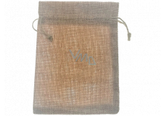 Jute imitation bag 17 x 12.5 cm 666