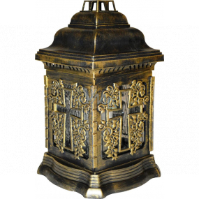 Admit Large glass lamp Cross 25.5 cm 100 g LA 207 CAT