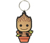 Epee Merch Marvel Guardians of the Galaxy Rangers - Groot galaxy Rubber keychain 4.5 x 6 cm