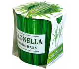 Admit Verona Citronella - Lemongrass scented candle in glass 90 g