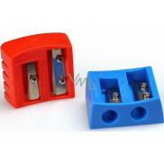 Y-Plus Buddy double sharpener extended tip 37 x 32 x 15 mm 1 piece red / blue