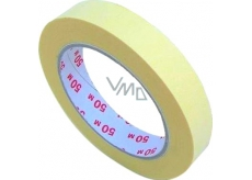 Perdix Masking tape up to 60 degrees 19 mm x 50 m crepe