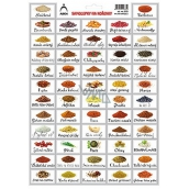 Arch Stickers for spices pictures Sirloin