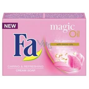Fa Magic Oil Pink Jasmine Scent Cream Toilet Soap 90 g