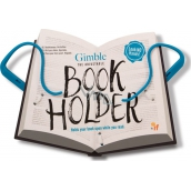 If Gimble Adjustable Bookholder Travel Book Holder blue 340 x 240 x 20 mm