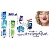 DÁREK Signal Super Clean zubní kartáček medium
