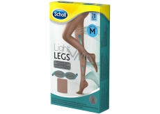 Scholl Light Legs Compression Tights M brown 20 days help prevent leg fatigue and reduce the feeling of heavy legs