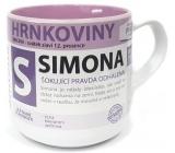 Nekupto Hrnkoviny Mug with the name of Simon