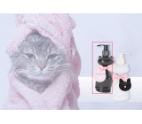 NeoCos Cat black gentle liquid soap dispenser 240 ml