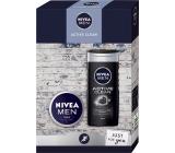 Nivea Men Active Clean shower gel 250 ml + cream 75 ml, cosmetic set for men