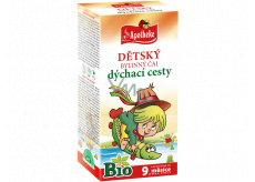 Apotheke Bio Respiratory system herbal tea for children from 9 months 20 x 1.5 g