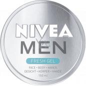 Nivea Men Fresh Gel cream for men 150 ml