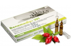 Benemedio 301 Rejuvenating serum with Vitamin C for face and décolletage 10 ampoules 2ml