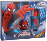 Corine de Farme Marvel Spiderman EdT 50 ml Eau de Toilette + Light Spinning Top, Gift Set