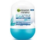 Garnier Mineral Pure Active Antibacterial 48h ball antiperspirant deodorant roll-on for women 50 ml