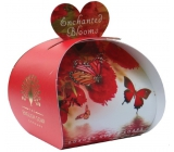English Soap Enchanted flowers natural perfumed soap with shea butter 3 x 20 g
