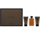 Gucci Guilty Absolute parfémovaná voda pro muže 50 ml + balzám po holení 50 ml + sprchový gel 50 ml, dárková sada