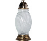 LAMP glass 43 cm deposit 360g 84h. 5897