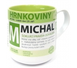 Nekupto Hrnkoviny Mug with the name Michal 0.4 liter