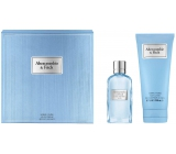 Abercrombie & Fitch First Instinct Blue Woman EdT 50 ml Women's scent water + 200 ml Body Lotion