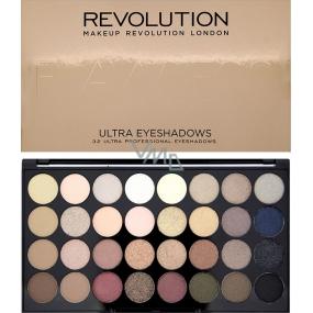 Makeup Revolution Ultra Eyeshadows Palette 32 Eyeshadow Flawless 16 g