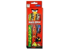 Angry Birds Soft toothbrush with suction cup for children 3 pieces