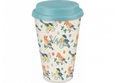 Albi Bamboo travel mug Birds 340 ml