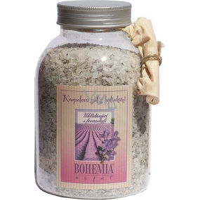Bohemia Gifts Lavender with herbs Soothing bath salt 1.2 kg