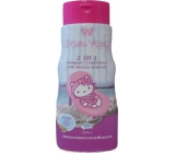 Hello Kitty Exotic Flavor Fragrance 2in1 Shampoo and Conditioner for Children 250ml