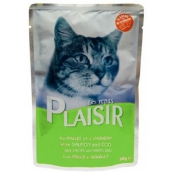 Plaisir Cat Salmon and cod pocket 100 g
