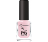 Dermacol 5 Day Stay Long Lasting Nail Polish 06 First Kiss 11 ml
