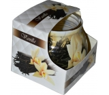 Admit Vanilla dekorativní aromatická svíčka ve skle 80 g