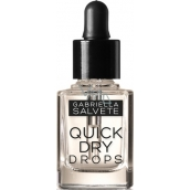 Gabriella Salvete Nail Care Quick Dry Drops drops to accelerate the drying of nail polish 20 Transparent 11 ml