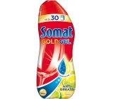 Somat Gold Gel Anti-Grease Lemon & Lime gel with active dishwasher degreaser 990 ml