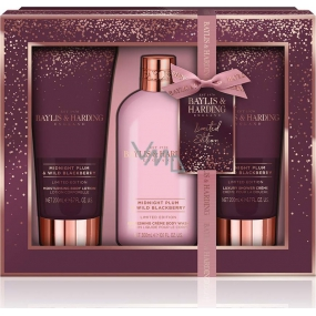 Baylis & Harding Midnight Plum and Wild Blackberry 3 Piece Set